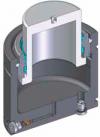 Инструментальная газовая пружина c max усилием при min высоте. Спецификация FIATStd