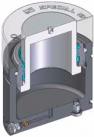Инструментальная газовая пружина c max усилием при min высоте и защитой от загрязнений