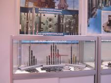 """Стенд """"НПО СТАМО"""" на выставке «Металлообработка-2012»: сверла и буры"""