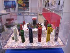"""Стенд """"НПО СТАМО"""" на выставке «Металлообработка-2012»: изготовление пружин на заказ"""
