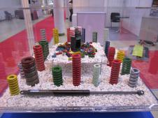 """Стенд """"НПО СТАМО"""" на выставке «Металлообработка-2012»: пружины на заказ"""