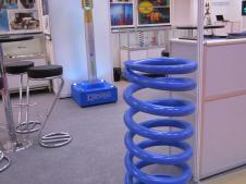 """Стенд """"НПО СТАМО"""" на выставке «Металлообработка-2012»: изготовление пружин"""