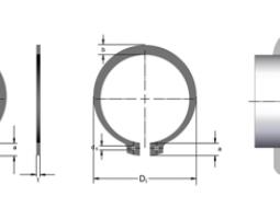 Кольца стопорные DIN 471 в каталоге СТАМО